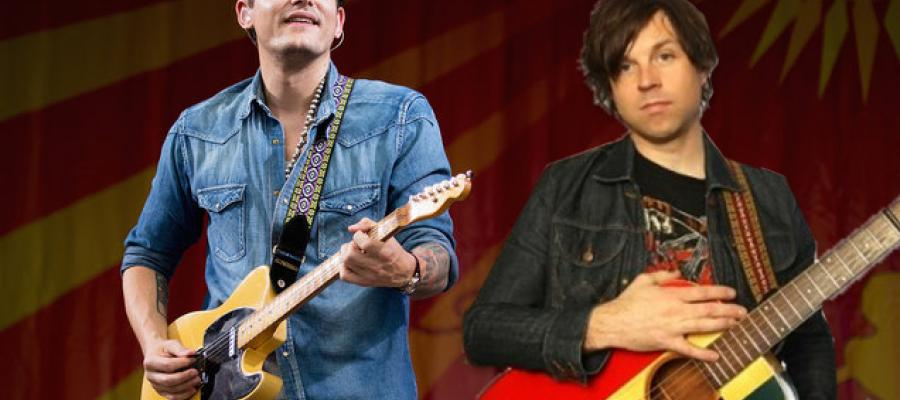 Ryan Adams and John Mayer together